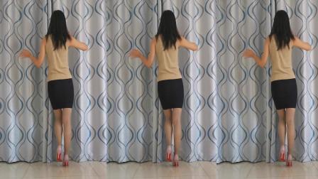 神农舞娘广场舞三月里的小雨 中年舞蹈视频