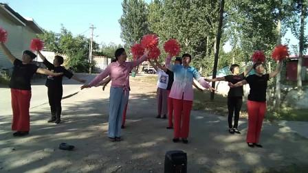 友谊广场舞《祝福你祖国》朱朱 制作现代舞