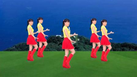 点击观看《玫香32步水兵舞《歌在飞》歌美舞美,简单易学》