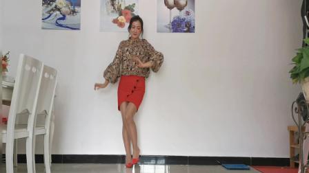 神农舞娘无基础健身舞视频中国红 庆国庆舞蹈