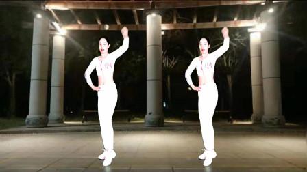 点击观看《广场舞《死心塌地去爱你》腰腹健身操瘦腰必备》