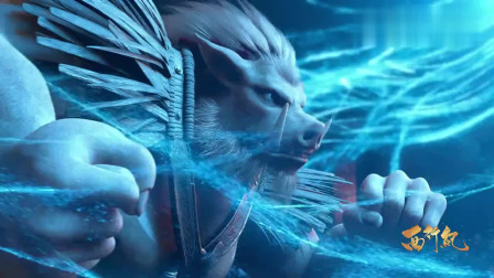 猪八戒竟恢复了獠牙变成力量的化身,要和猪勇鬓决一死战