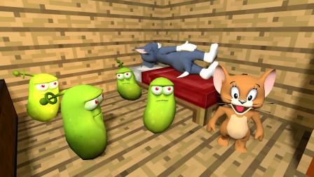 猫和老鼠:汤姆猫会被虫子吓到吗?