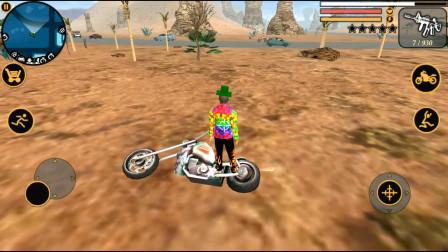 维加斯英雄:这辆摩托车动不动就翻车,不想要了,直接摧毁