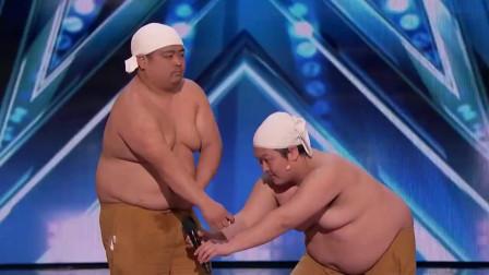 胖子的肚皮居然能制造出这么多的声音,这艺术太厉害