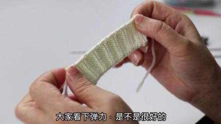 阿香教大家双螺纹的收针方法,弹力好简单易学,赶紧收藏起来