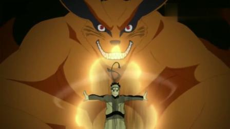 火影忍者:鸣人尾兽化这一幕看哭了多少人!仿佛四代火影重现!