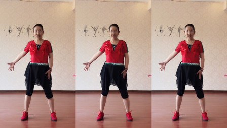 点击观看美久广场舞教学视频 帅气的舞蹈教学《赢在江湖》详细口令分解视频