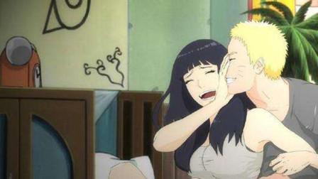 雏田开启白眼后发现鸣人身上有特殊的魅力