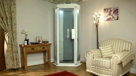 世界上最迷你的电梯,可以安装在家里,停电了也能正常使用!