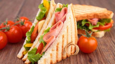 同样是有荤有素,为什么汉堡叫做垃圾食品,而三明治却是健康快餐