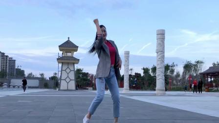 适合初学者广场舞视频爱情有时很残忍DJ 年轻漂亮妇女学跳