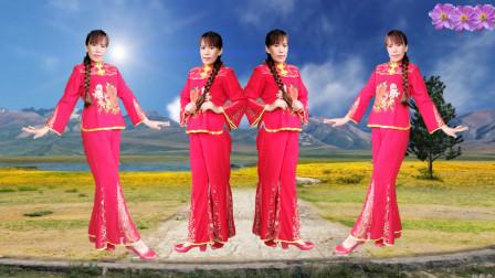 点击观看陕北民歌《荞麦花》歌醉舞美热门舞蹈视频