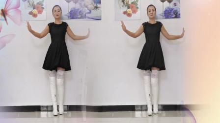 神农舞娘广场舞 蕾丝丝袜跳甜蜜舞蹈爱你在心里