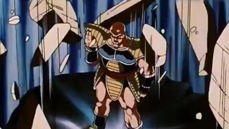 龙珠GT:赛亚人那巴复活大搞破坏,贝吉塔再次送他回地狱!