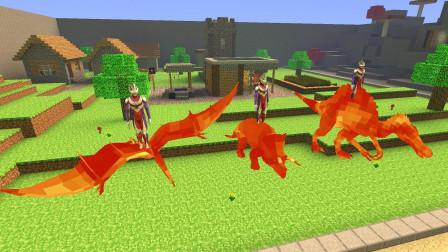 GMOD游戏奥特曼喜欢小黑抓来的岩浆恐龙吗?
