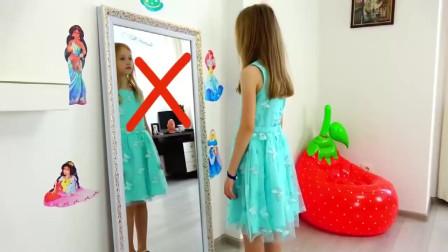 萌娃的裙子可真漂亮呀!小家伙真是萌萌哒!