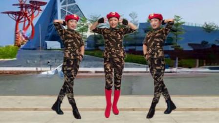 点击观看《一秋广场舞《红姑娘儿》零基础单人水兵舞教学》