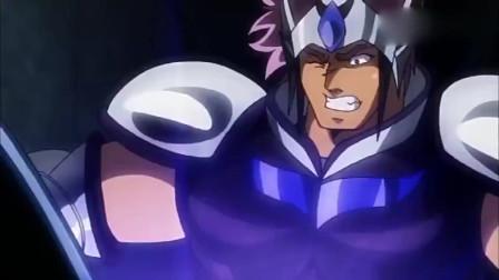 圣斗士星矢:这个人究竟是谁,竟然仅凭一击就毁掉了白银圣衣!