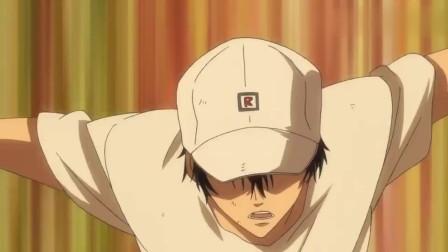 网球王子:龙马练习杀人网球, 总是不能回击第8球, 让龙马很郁闷