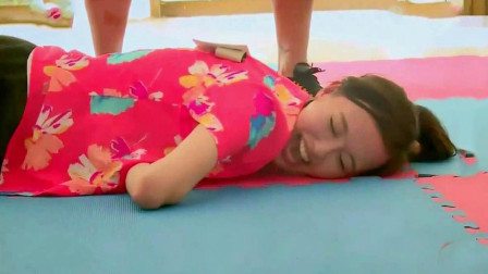 唐嫣太拼!参加综艺节目直接躺在地上,罗晋看了满眼的心疼