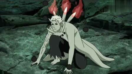 火影忍者:鸣人和四代火影,也就是自己的爸爸波风水门第一次联手作战