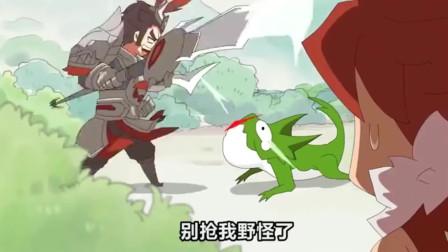 王者别闹:吕布貂蝉擦出爱情火花,虽然是敌方英雄!