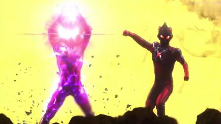 奥特银河格斗:黑暗捷德和黑暗艾克斯袭击了三个奥特曼