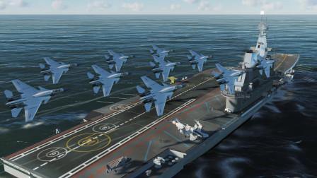 辽宁号航母和10架歼15穿越到二战珍珠港,结果如何?战争模拟