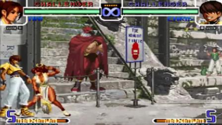 拳皇02 原来这版本的火舞也能打出一套死,长见识了