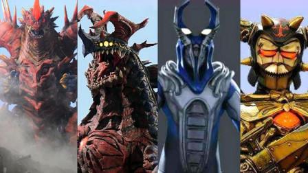 奥特曼中4大古老怪兽,一位拥有不死体制,一位只有精神活跃!