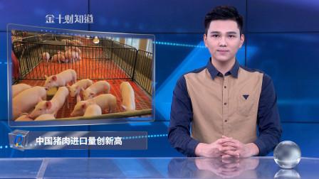132.6万吨!中国猪肉进口量创新高,北美猪肉对华供应大涨27倍