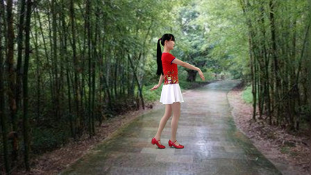 点击观看《简单抒情广场舞《爱不停息》》