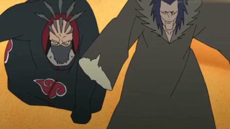 火影忍者:三代风影对战赤砂之蝎,打不死的风影!