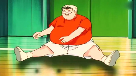 灌篮高手:樱木被安西教练完虐,没想到老爹这么强,老爹的笑声好魔性!