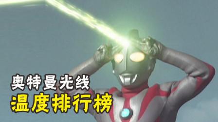 奥特曼光线的温度有多高?奥特之父80万度,他-我就是个太阳!