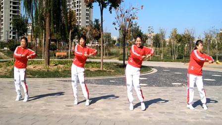 玉霞广场舞《我爱你真的不是闹着玩》原创编舞附教学现代舞教学
