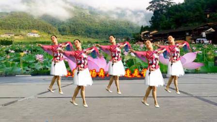 小慧广场舞《相逢是首歌》优雅中年妇女舞蹈教程分解