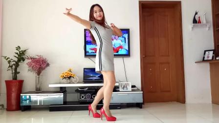 京京广场舞《寂寞沙洲冷》中老年网红热门舞蹈视频