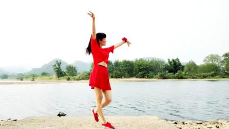 麦芽姐江边跳健身舞视频人生何处不相逢