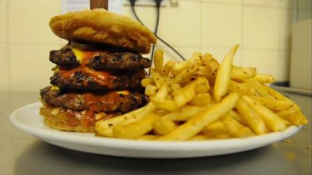 世界上最辣的汉堡,就算给你钱,你也未必敢吃