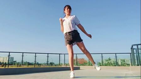 云豫风彩初学鬼步舞视频《唱首情歌给草原》