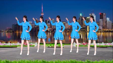 河北青青广场舞《男人有钱就变了坏》32步
