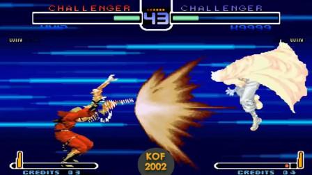 拳皇2002:面对薇普的枪击,K9999为你表演原地躲子弹