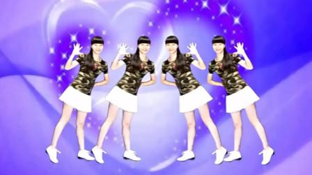 点击观看《林子广场舞《九寨沟的春天》16步单人水兵舞教学》