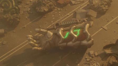 欧布奥特曼-怪兽竟能操纵怪兽发射大炮,竟还有这种操作!