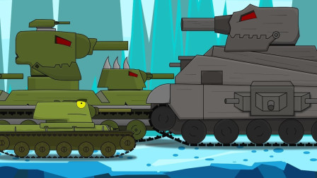 坦克世界动画:kv6的挑战赛