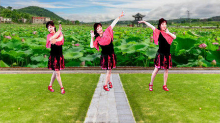 最新吕芳广场舞 原创《最远的你是我最近的爱》优美抒情附教学