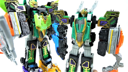 开箱Legend Hero群英传奇梦想三国 组合机器人变形机甲玩具相关的图片