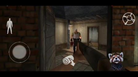 肉先生:看着我手里拿着猎枪,你还直接冲过来,你真不要命呀